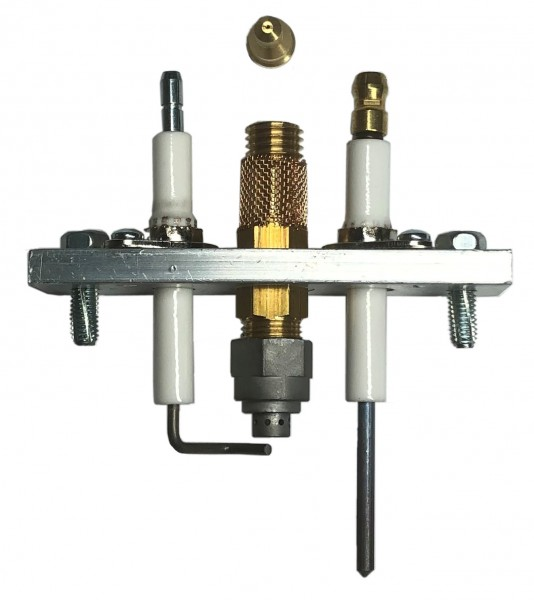 Elektrodenhalter mit Zünd-und Ionisationselektrode GA110E//CVI